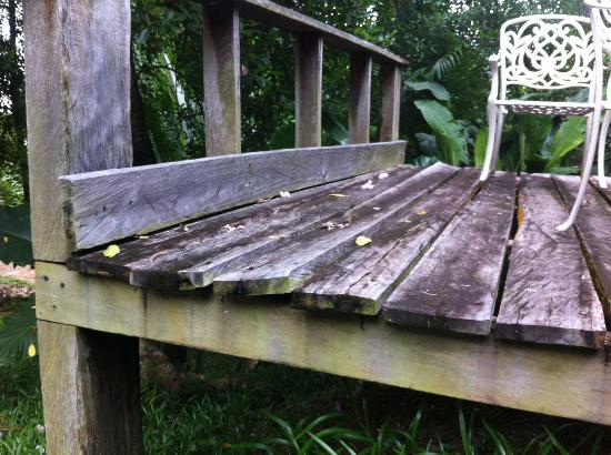 Demeure de Cap Macon: Die Terrasse