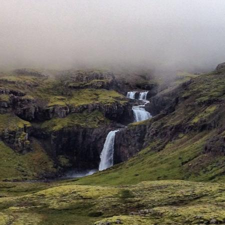 Hallormsstadur, Islandia: cascada