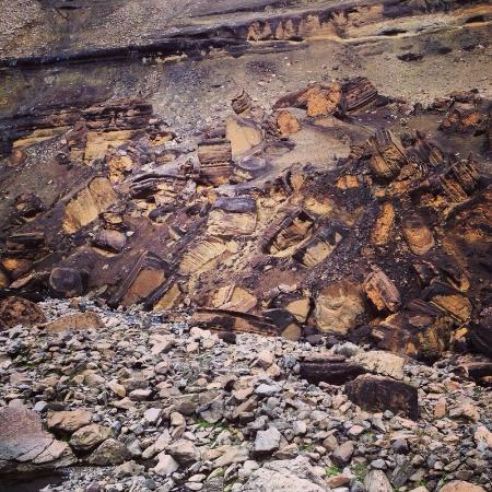 Hallormsstadur, IJsland: Camino a la cascada
