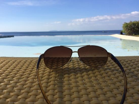 beautiful view in the infinity pool picture of aiyanar beach rh tripadvisor com