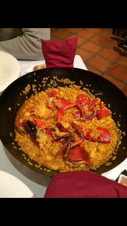 Castellnovo, Spanien: Arroz con bogavante