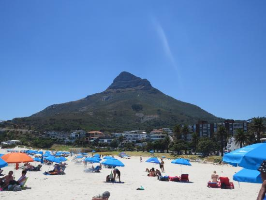 Camps Bay, South Africa: The beach
