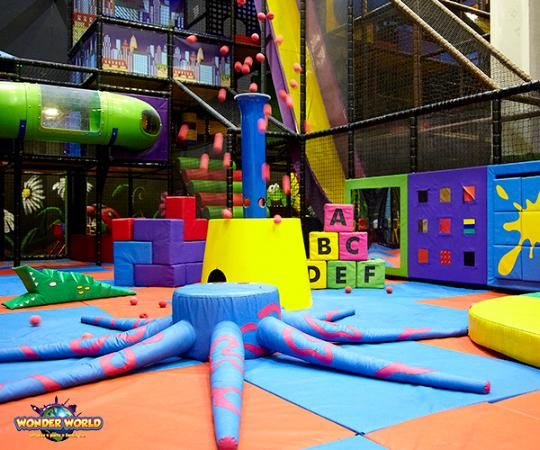 Trampoline Party Glasgow: Picture Of Wonder World Soft Play