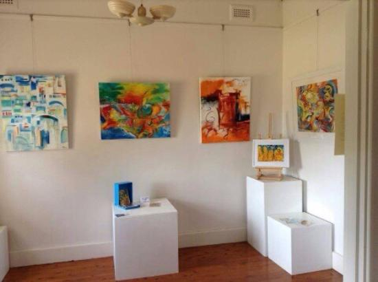 Gallery 294: The gallery offers a broad spectrum of work including art by Jenny King.