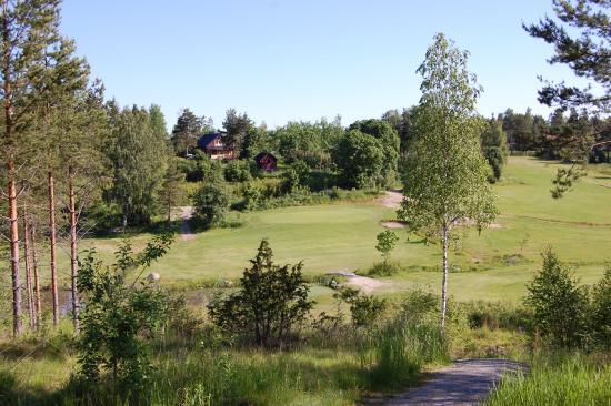 Nivelax, Finlandiya: Golfbana, hål 3