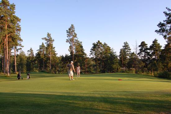 Nivelax, Φινλανδία: Golfbana, hål 17