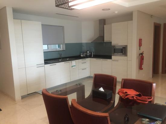 Awesome Millennium Executive Apartments Muscat: Pictures Of The Apartment  Kitchenette, Living, Desk Area,