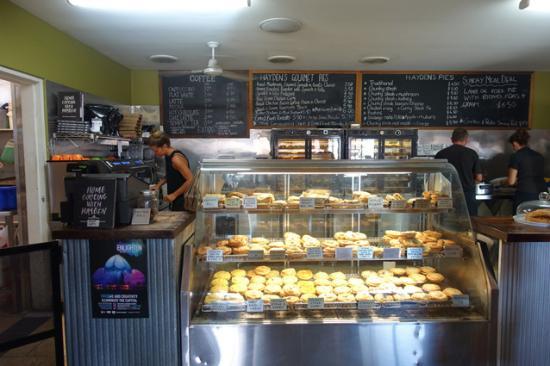 Inside Hayden's Pies