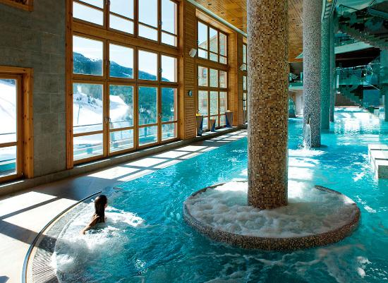 sport wellness mountain spa vistas invierno sport wellness mountain spa vista jacuzzi exterior