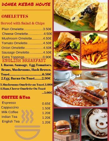 Doner kebab house portim o coment rios de restaurantes for Divan kebab carte