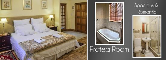 Woodlands Guest House: Protea Room