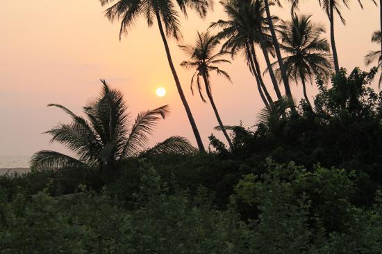 Heritage Village Resort & Spa Goa: Beach Sunset