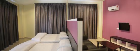 Kampung Teluk Kemang, Malaysia: Suite Room