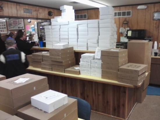 Donna's Donuts: 2016 Paczki Day boxes ready to pick up
