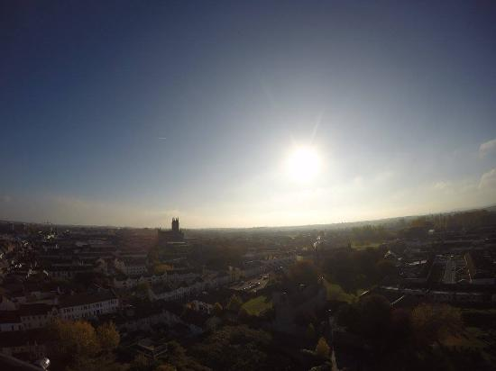 Kilkenny, Irlanda: The view from the top of the round tower
