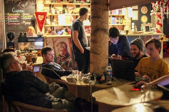 Time cafés in Saint-Petersburg: Time is money!