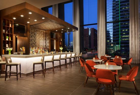 The Westin Dallas Downtown Meet And Relax In Our Hotel Lobby Bar