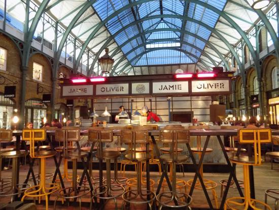 Jamie Oliver Restaurant Covent Garden