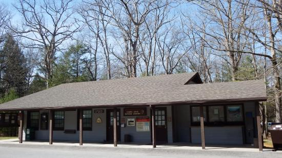 Townsend, TN: Camp ranger station largely unmanned during our visit