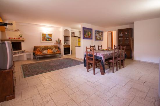 Soggiorno Taverna - Picture of Follonica Apartments, Follonica ...