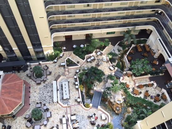 view of lobby from 12 floor picture of embassy suites by hilton rh tripadvisor com