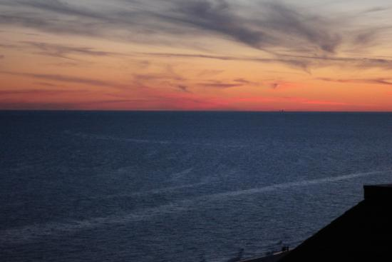 early sunset from our balcony picture of phoenix v orange beach rh tripadvisor com