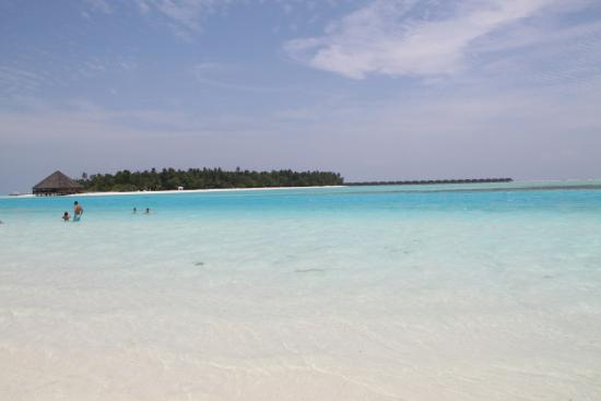 Happy Life Maldives Lodge: Private Beach behind the hotel