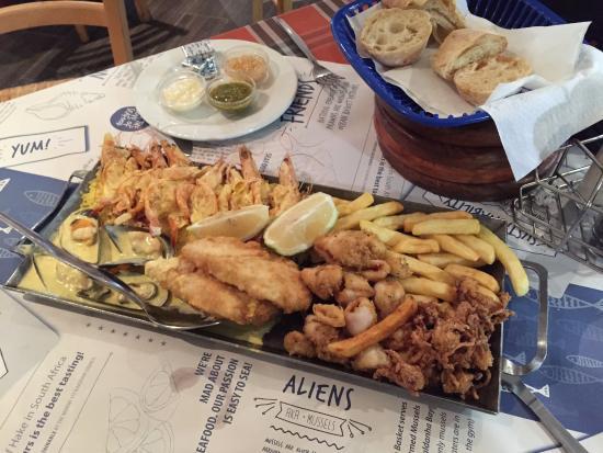 Seafood platter for 2!