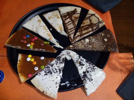 Pura Gula: pizzas dulces
