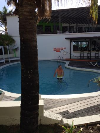 """Silver Point Hotel: """"the real pool"""""""