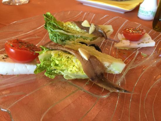 Restaurante Los Almendros: Arroz con verduras, sepia a la romana, navajas
