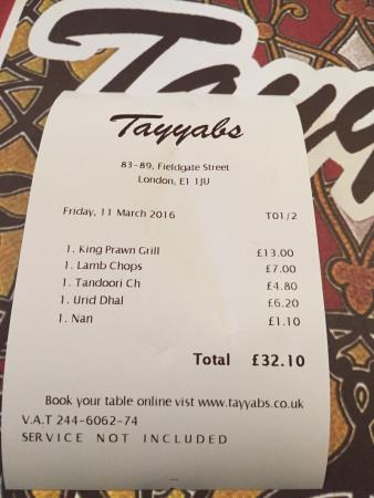 Amazing Indian Food But Be Prepared It Is Very Spicy All Food Is Halal Picture Of Tayyabs London Tripadvisor