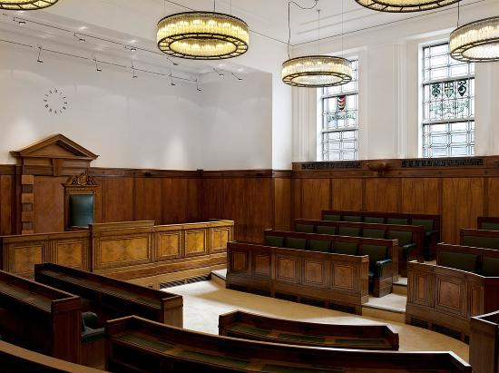 Town Hall Hotel: Courtroom