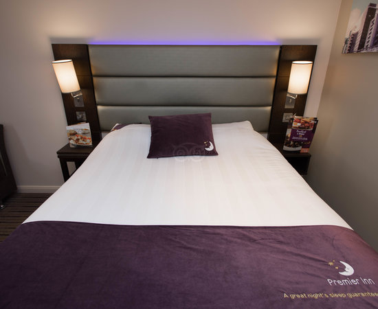 The Double Room at the Premier Inn Christchurch (East) Hotel