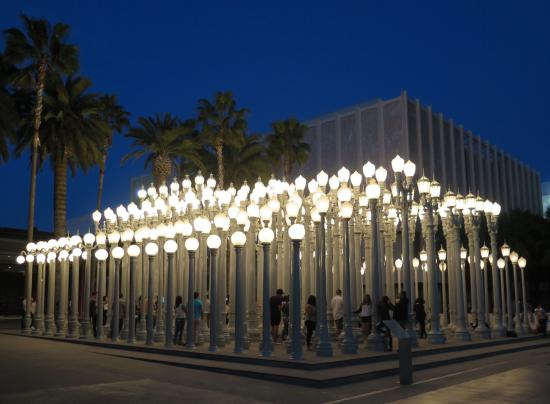 Los Angeles County Museum Of Art: 202 Lamp Posts