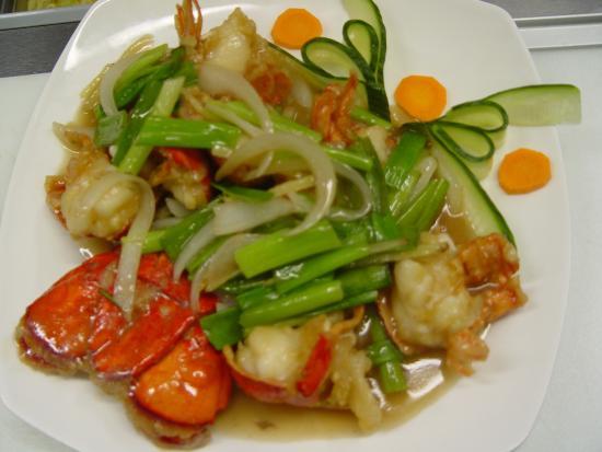 Lobster Cantonese Style - Picture of Mandarin Garden Restaurant ...