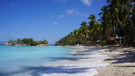 Petit Goave, Haiti: plage de cocoye