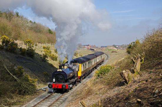 Telford Steam Railway: It's full steam ahead to Lawley!