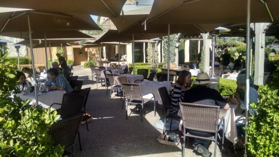 Outdoor Dining Area At The Restaurant Ponte In Temecula Ca