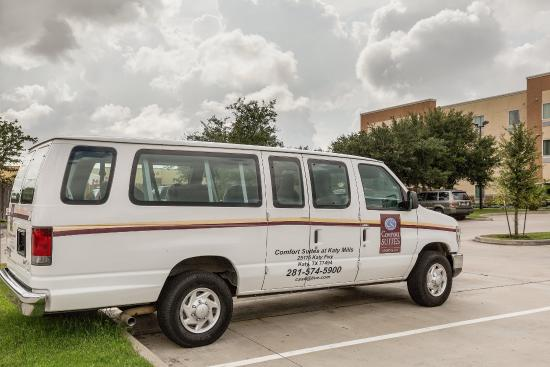Comfort Suites at Katy Mills : Shuttle