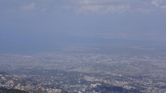 Ouest Department, Haití: vue sur PAP