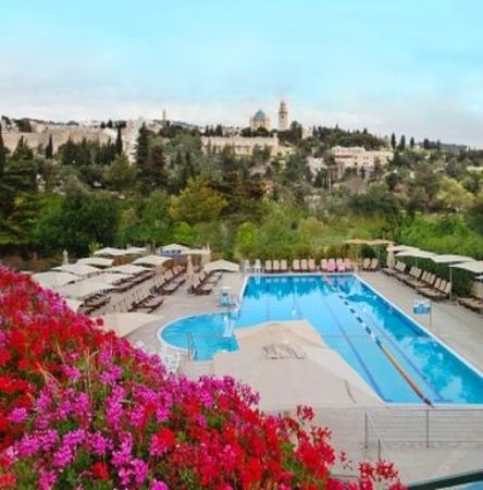 Swimming Pool Picture Of Inbal Jerusalem Hotel Jerusalem Tripadvisor