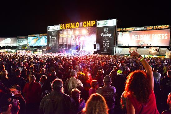 Sturgis 2015 buffalo chip concerts
