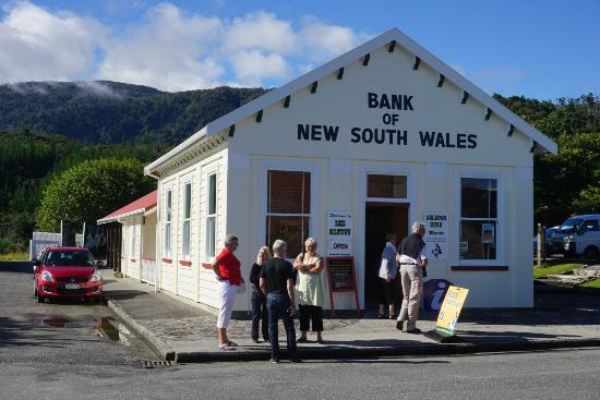 Westland National Park (Te Wahipounamu), Nouvelle-Zélande : View: Museum, information and shop