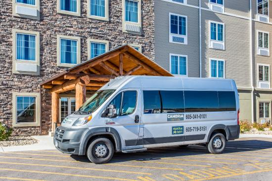 MainStay Suites Rapid City: Hotel Shuttle