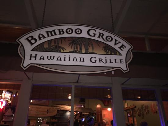 Bamboo Grove Hawaiian Grille: A great place on a wintery Portland night