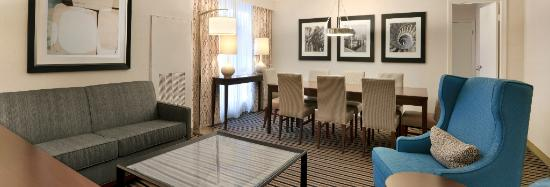 Wyndham Boston Beacon Hill: Presidential Suite Parlor