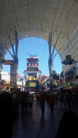 one end to the other at fremont st picture of slotzilla zip line rh tripadvisor co za
