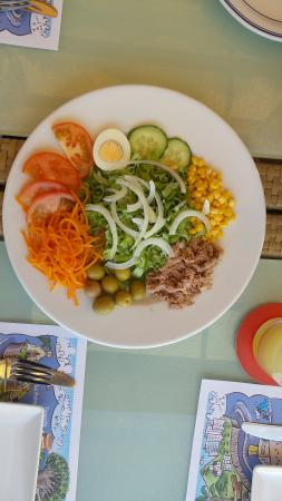 Cafe del Puerto : Mixed Salad
