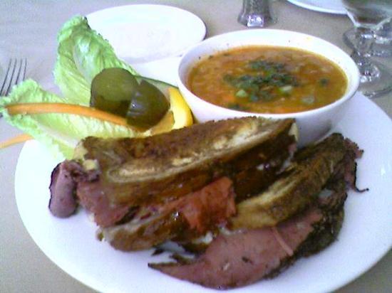 อินดิเพนเดนซ์, มิสซูรี่: Reuben & Soup of the day.